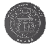 Georgia Secretary of State Official Seal
